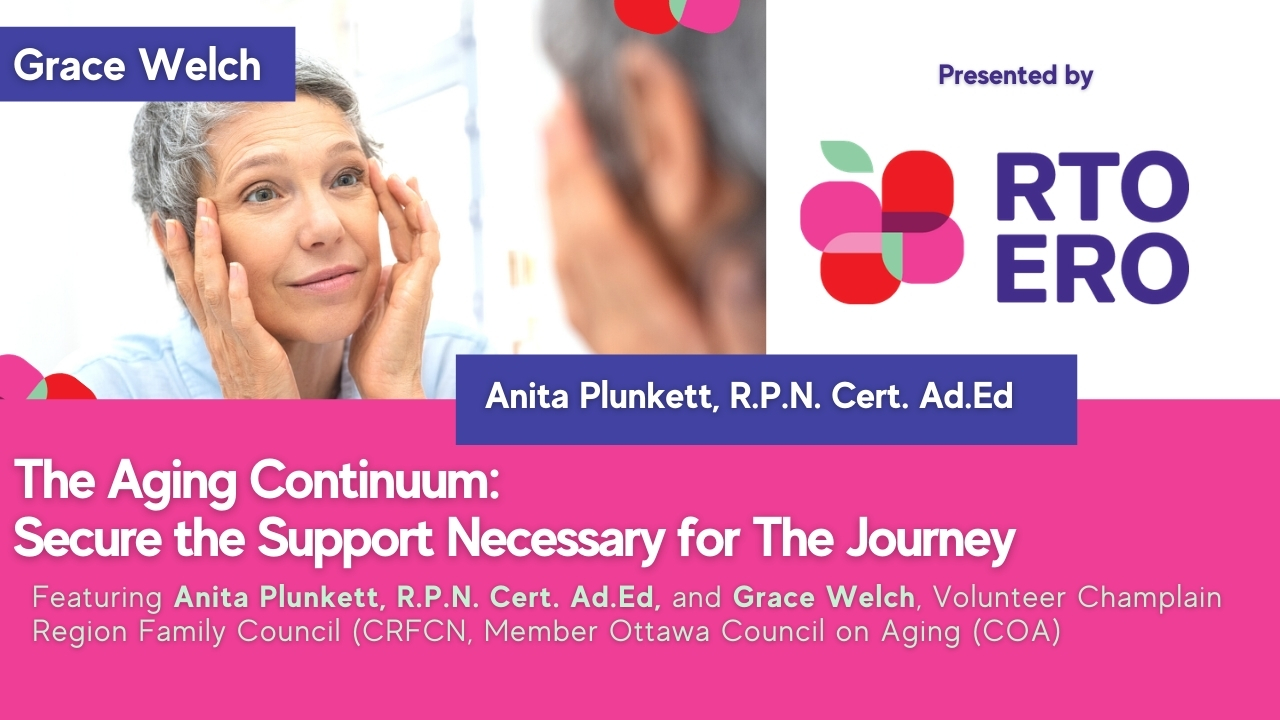 Webinar: The Aging Continuum – Secure the Support Necessary for The Journey